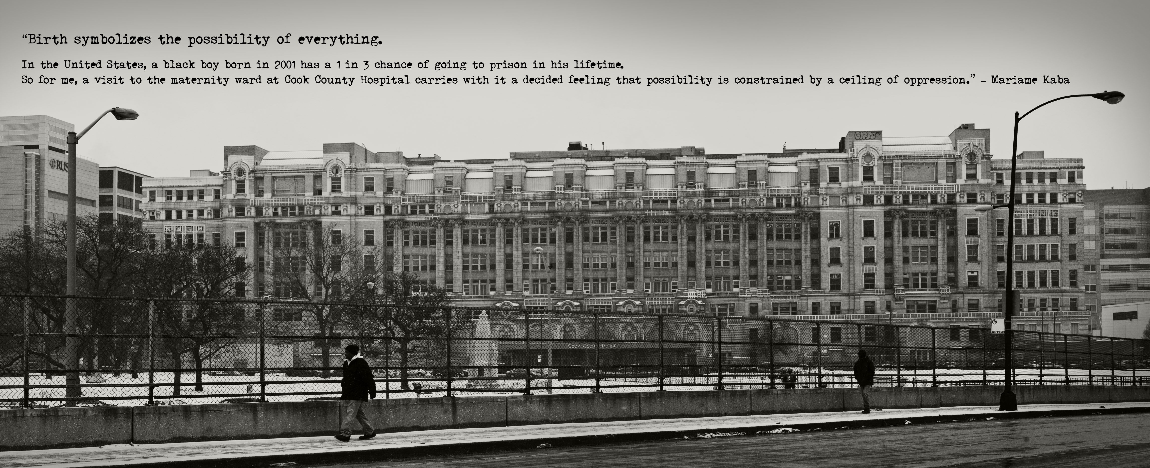 Arkham Asylum - Cook County Stroger Hospital Gotham