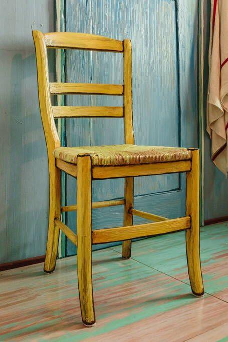 Quarto de Van Gogh é recriado por artistas em Chicago Van gogh and - Description De La Chambre De Van Gogh
