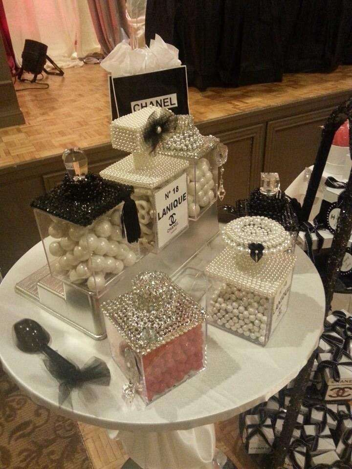 Chanel Birthday Party Ideas Themed Parties Birthdays And Photos