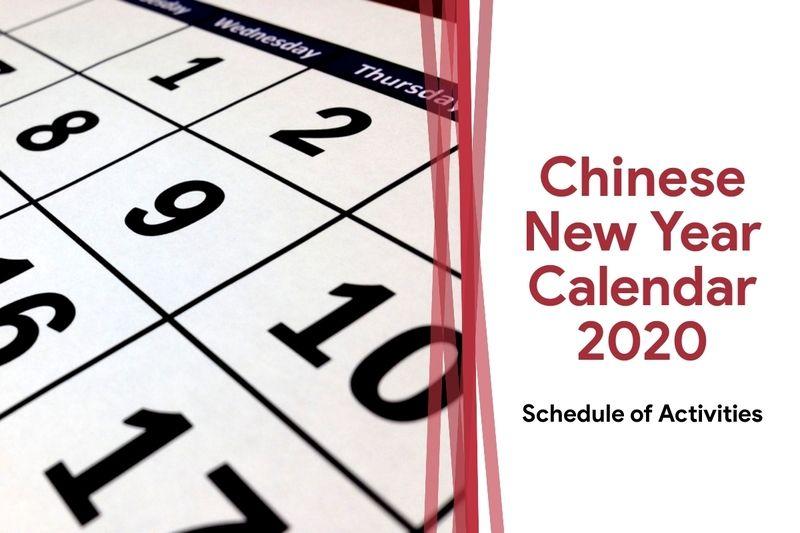 Chinese New Year Calendar 2021 Chinese New Year 2021