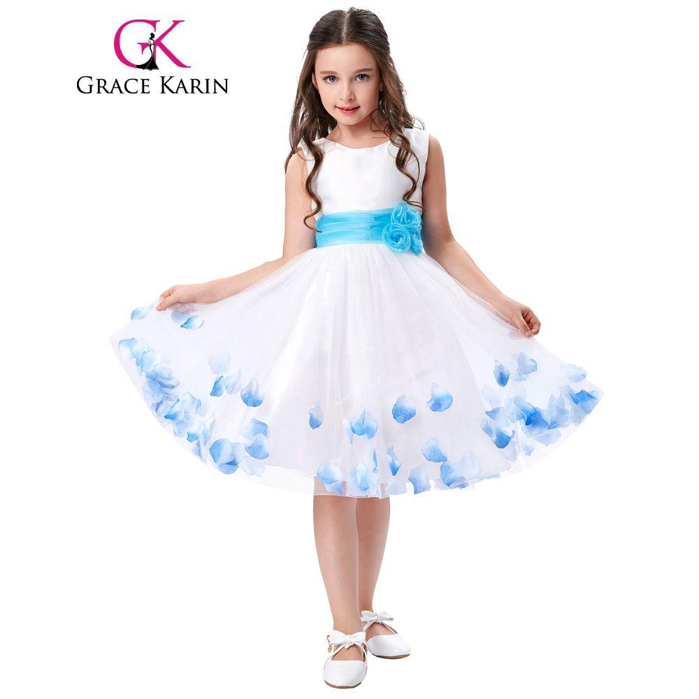 Grace Karin Pageant Dresses For Girls 2017 Sleeveless Ball Gown ...
