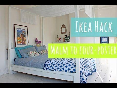 Ikea hack een modern hemelbed ikea hacks ikea knockoffs