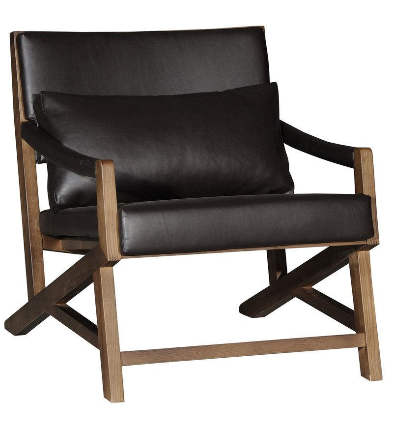 Fine Santos Arm Chair In Black Colour By Casacraft Chair Gamerscity Chair Design For Home Gamerscityorg