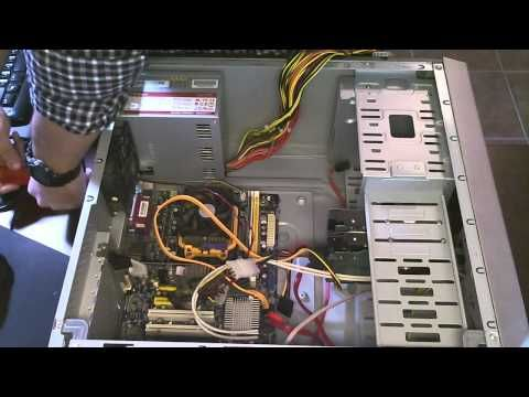 How To Repair Computer Power Supply and Diagnose Fan | Computer/Tech ...