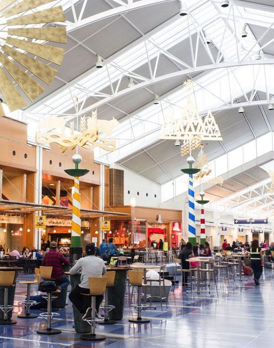 10 best u s airports to be stuck in during a winter storm - Interior design jobs portland oregon ...