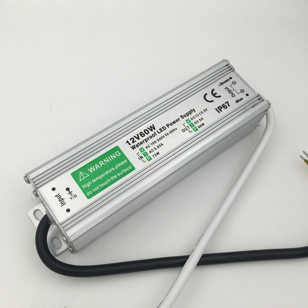 60w 80w 100w Ac 110v 120v 220v Led Driver To Dc12v Ip67 Waterproof Lighting Transformers For Outdoor Lights Affilia Led Power Supply 12v Led Light Accessories