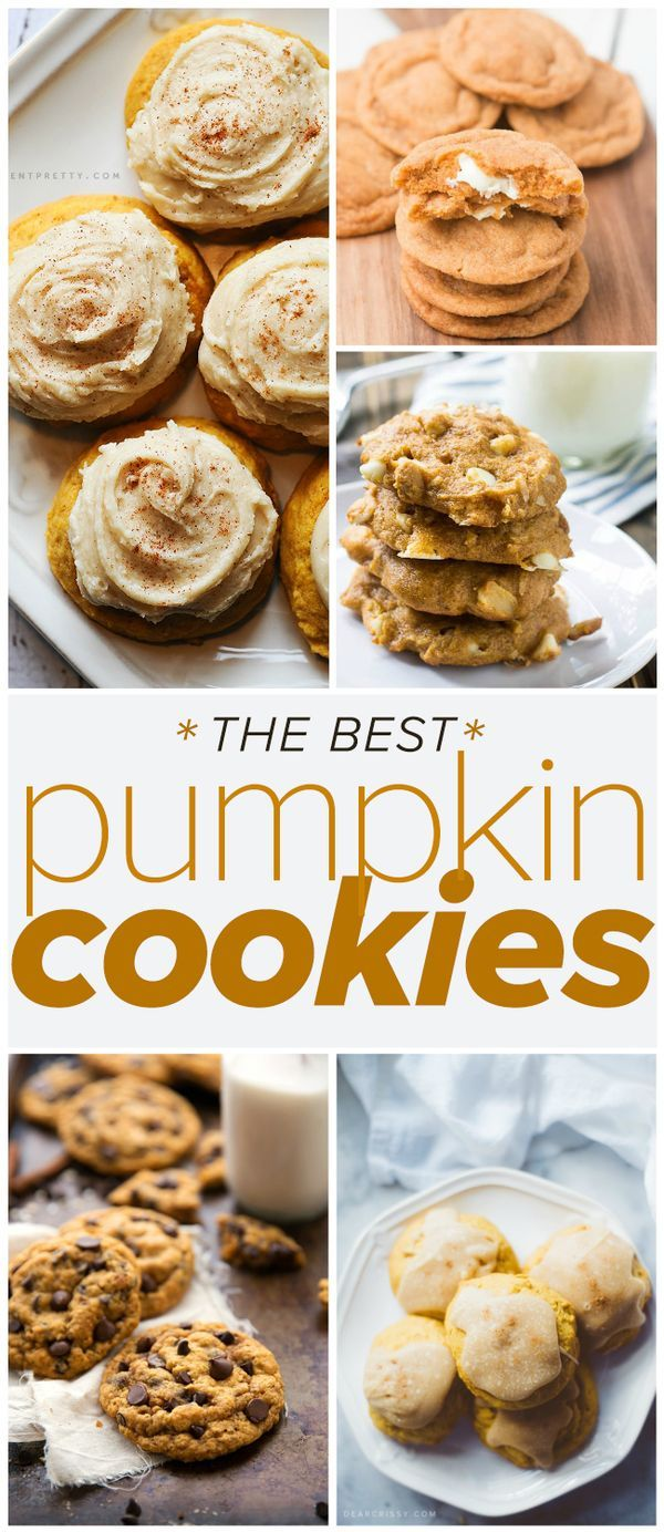 The Best Pumpkin Cookies - it's true, every recipe on this list is worth saving!