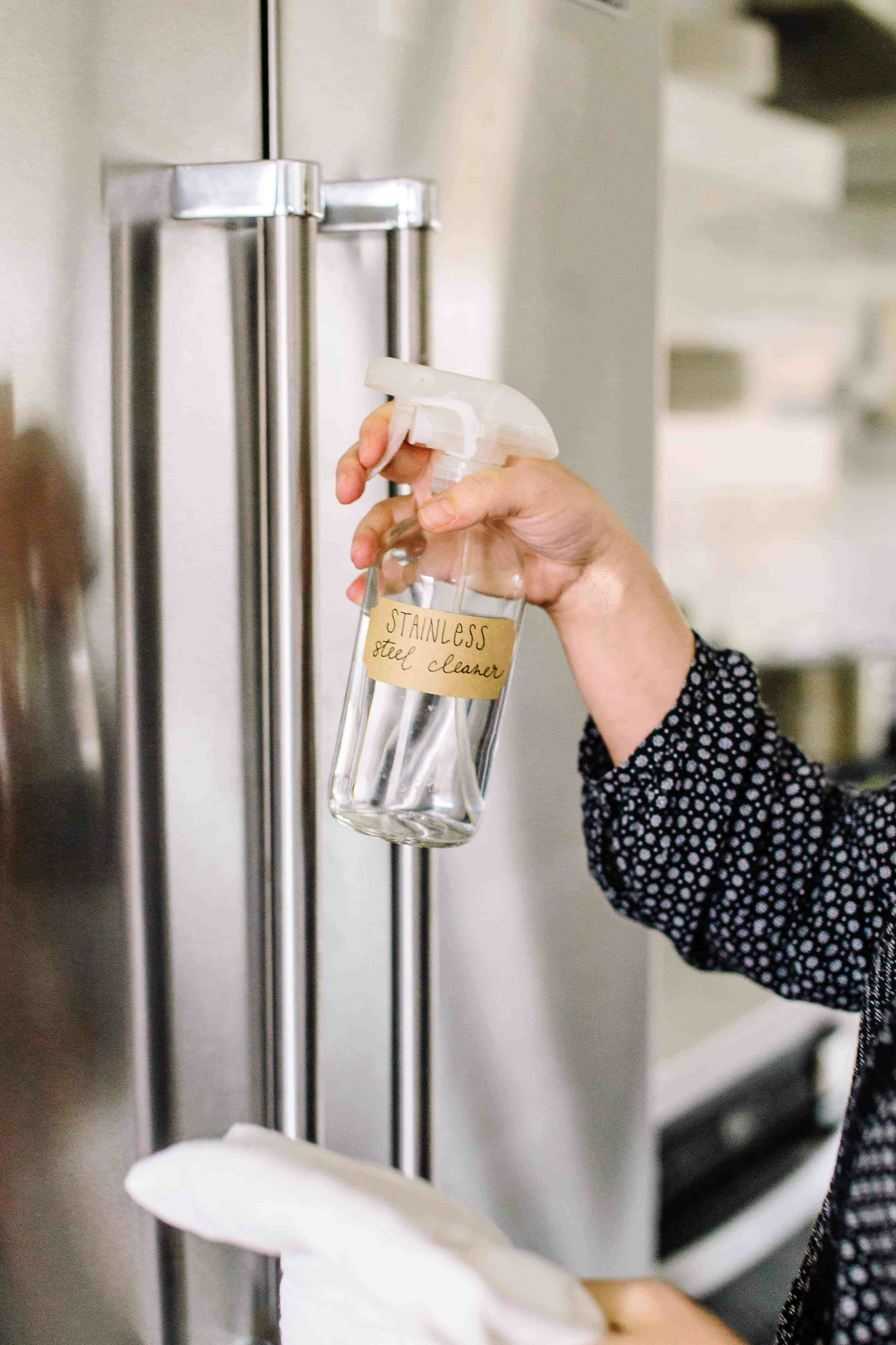 Freshen Up Your Furniture With This Diy Upholstery Spray Recipe Stainless Steel Cleaner Diy Stainless Steel Cleaner Cleaning Stainless Steel Fridge