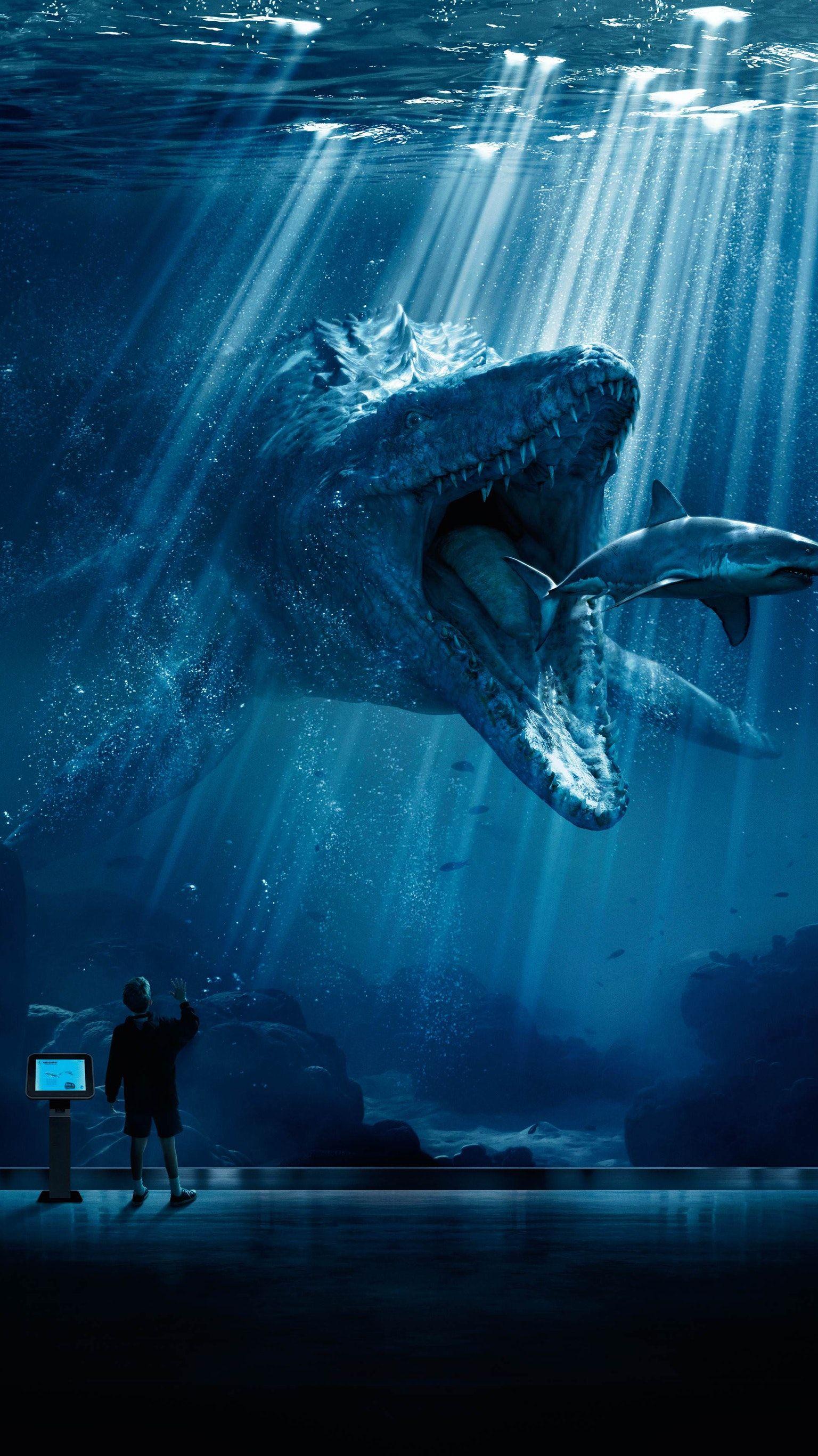 Jurassic World (2015) Phone Wallpaper Jurassic world