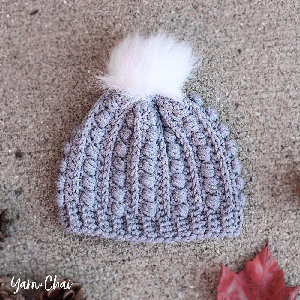 The Malia Newborn Beanie | Little Monkeys Crochet | Crochet Gift ...