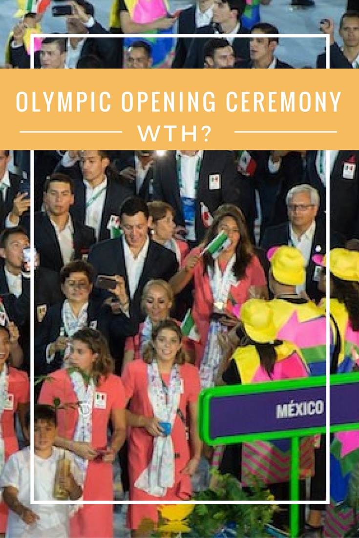 Olympic Opening Ceremony Uniforms, WTH? | Olympics opening ...