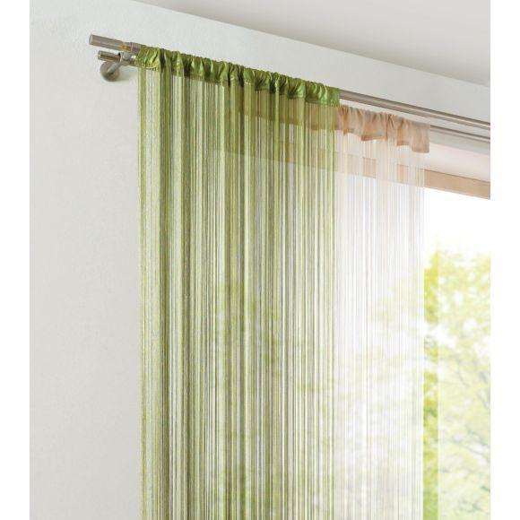 fadenstore transparent 90 245 cm vorh nge gardinen. Black Bedroom Furniture Sets. Home Design Ideas