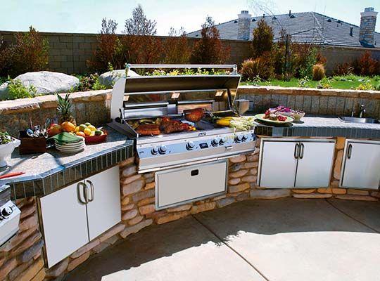 Outdoor Kitchen Photo Gallery Bbq Guys Backyard Kitchen Outdoor Kitchen Outdoor Kitchen Cabinets