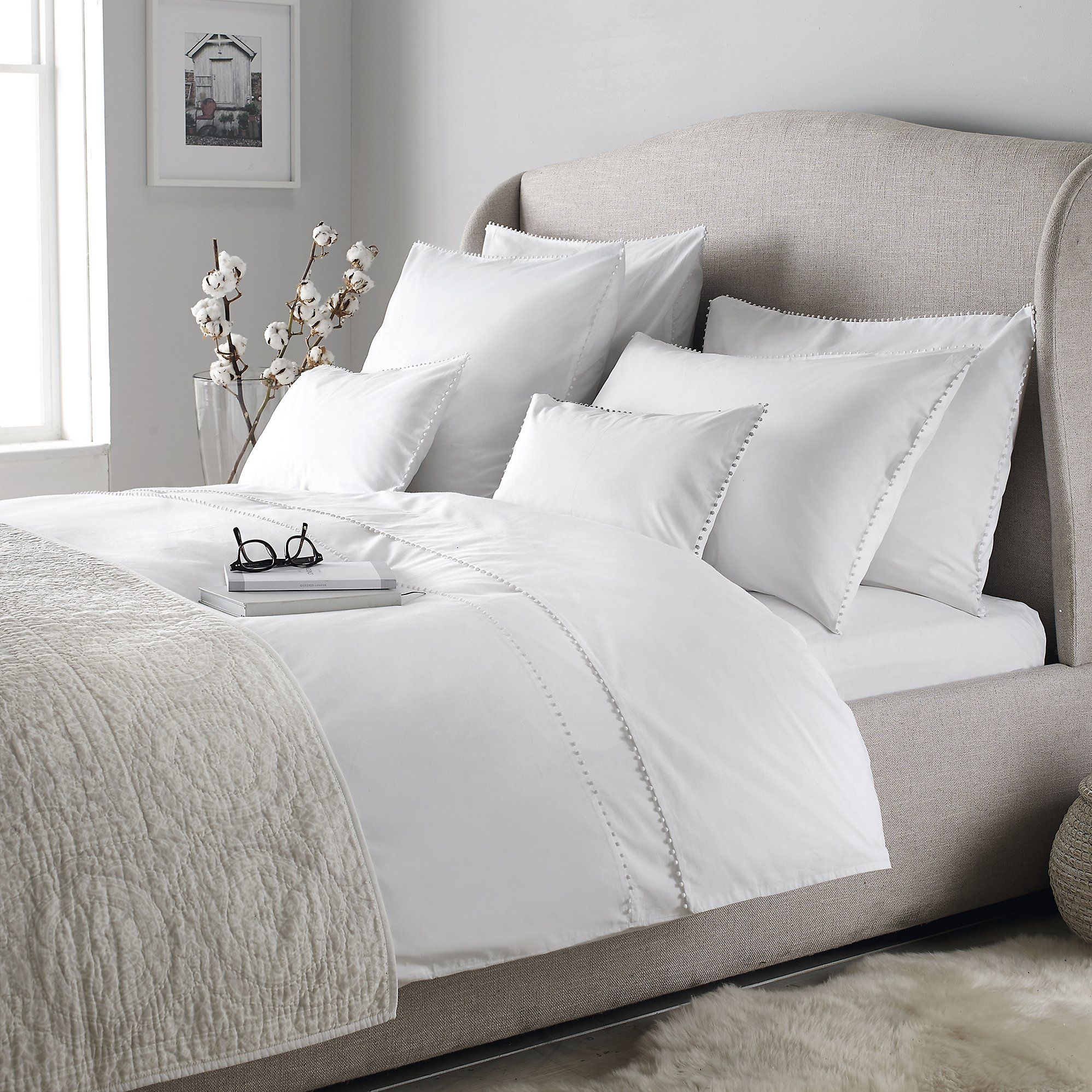 Avignon Bed Linen Collection | The White Company | Home ...