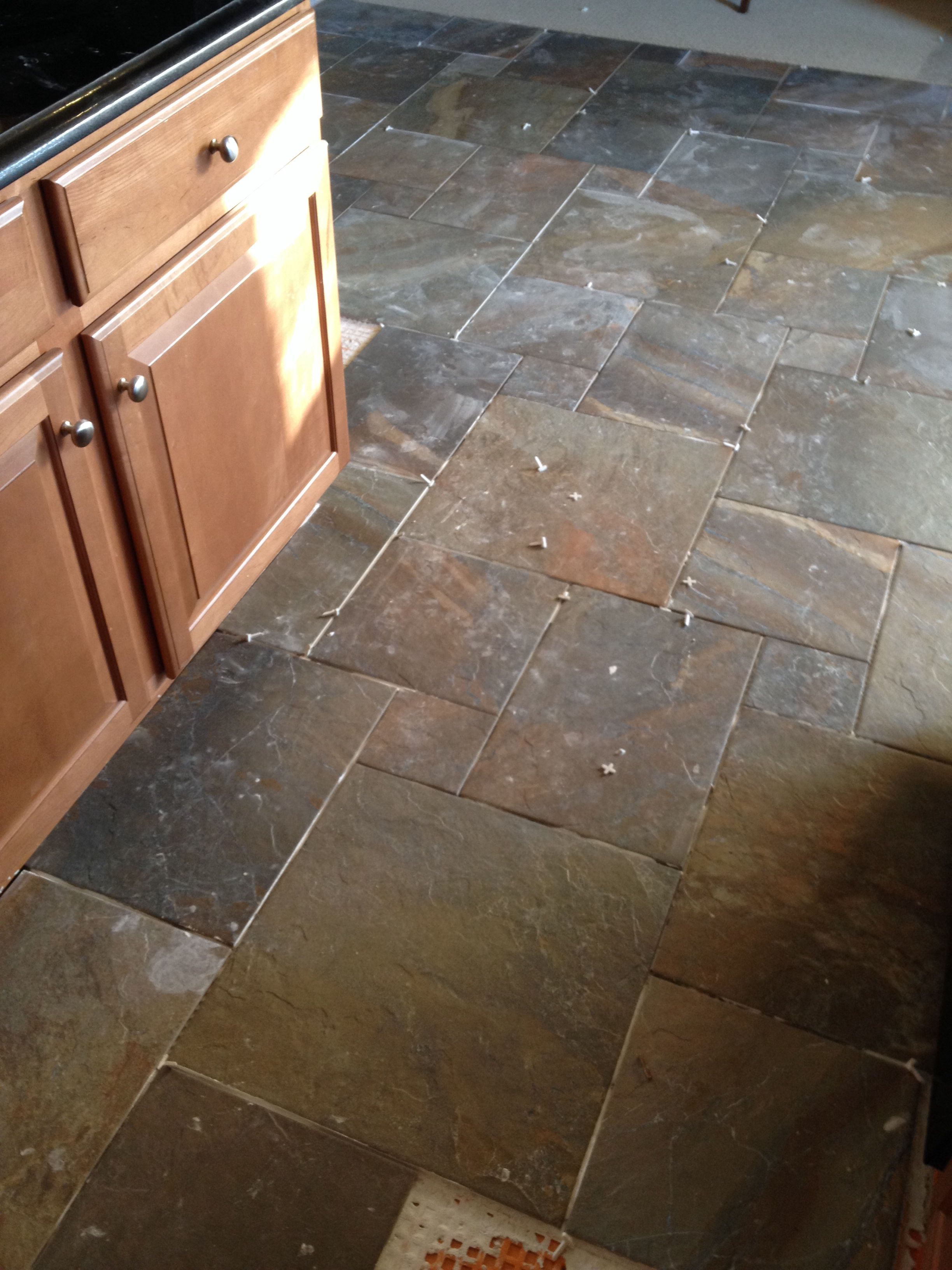 New Kitchen Floors Ayers Rock Rustic Remnant Love House Projects
