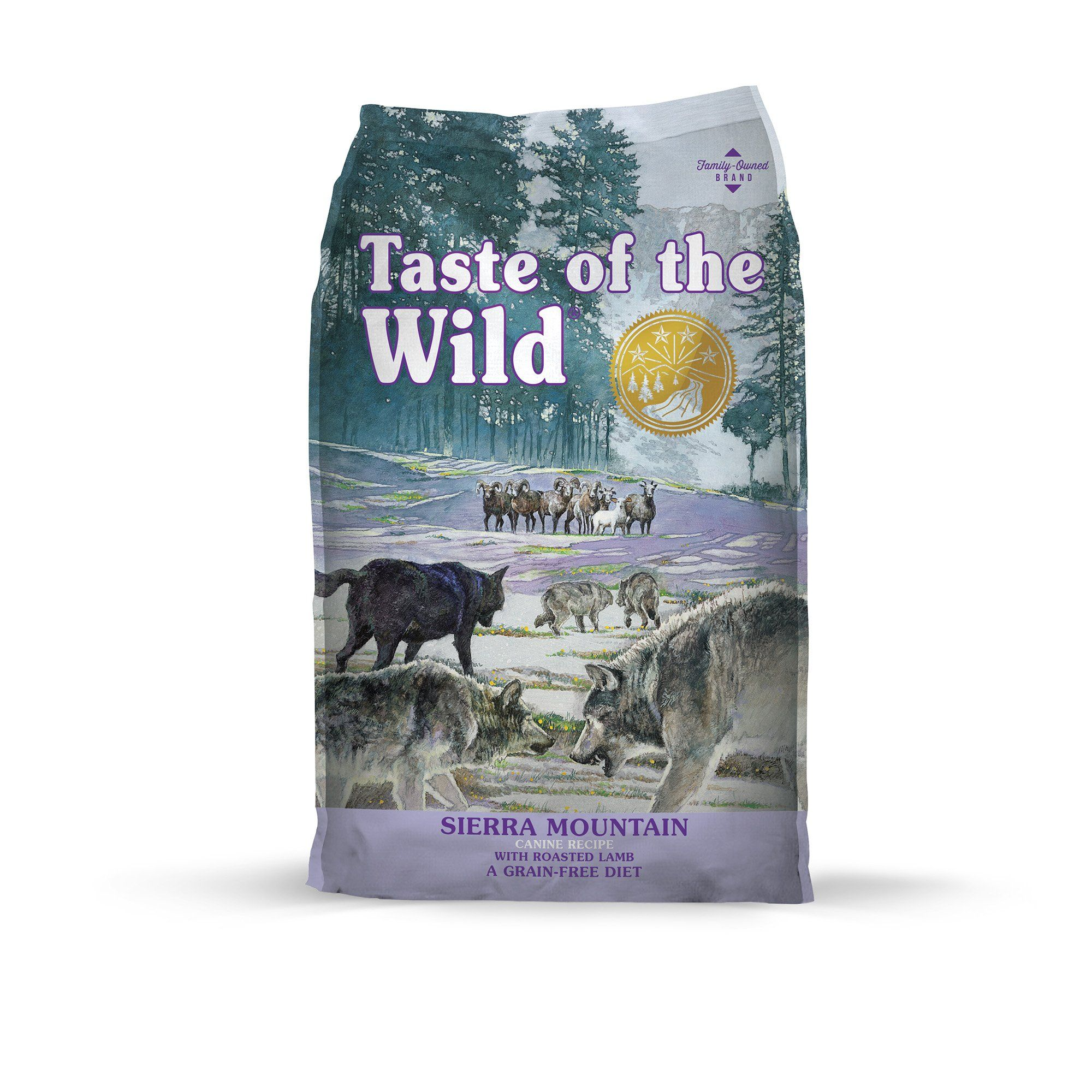 Taste of the Wild Sierra Mountain GrainFree Roasted Lamb