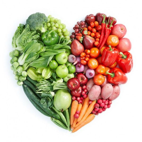 Poster of Green And Red Healthy Food