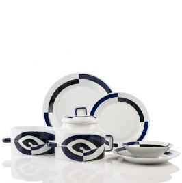 Dinnerware set made in Galicia Spain by Sargadelos. They craft fine ceramics that are inspired by the culture and history of their region. Expect Celtic ...  sc 1 st  Pinterest & Dinnerware set made in Galicia Spain by Sargadelos. They craft fine ...