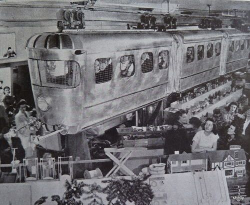 VintageChristmas Store Windows In The 1940s