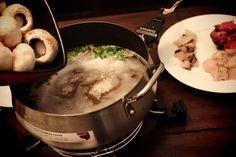 Coq au Vin Fondue copycat Melting Pot recipe #brothfonduerecipes