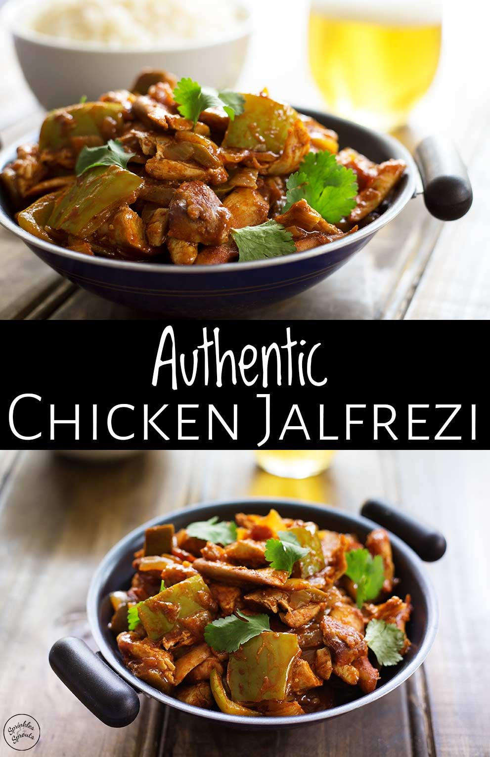 This Authentic Chicken Jalfrezi Is A Delicious And Easy Indian Curry That Is Big And Bold On F Curry Recipes Indian Chicken Jalfrezi Recipe Indian Food Recipes