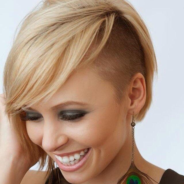 Coupes de cheveux courts avec un côté rasé / à l'arrière, à voir ...