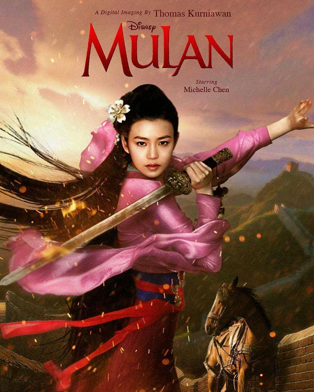 Mulan 2018 disneyprincesscelebrity Mulan