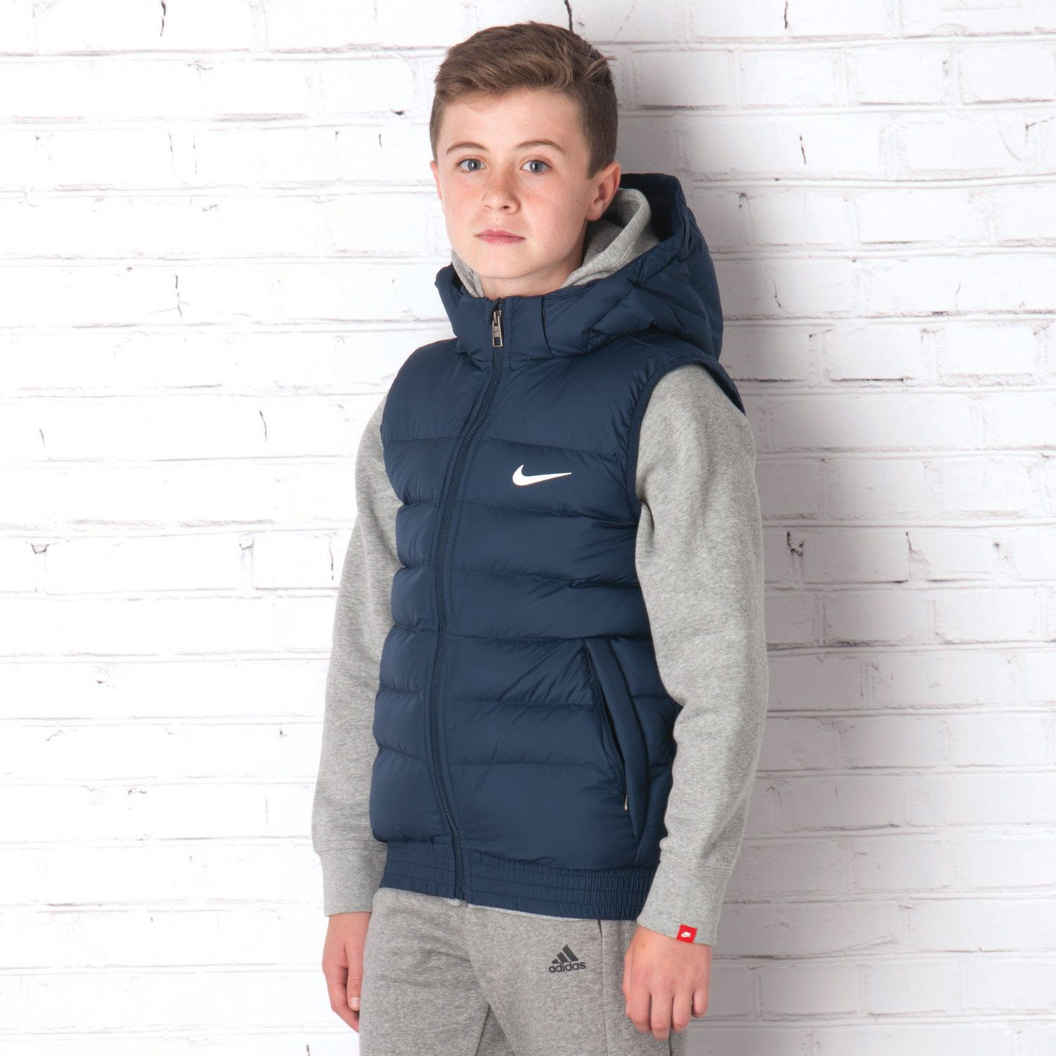 d4052f330 Coats - Jackets | Navy Junior Boys BTS Vest Gilet | Get The label ...