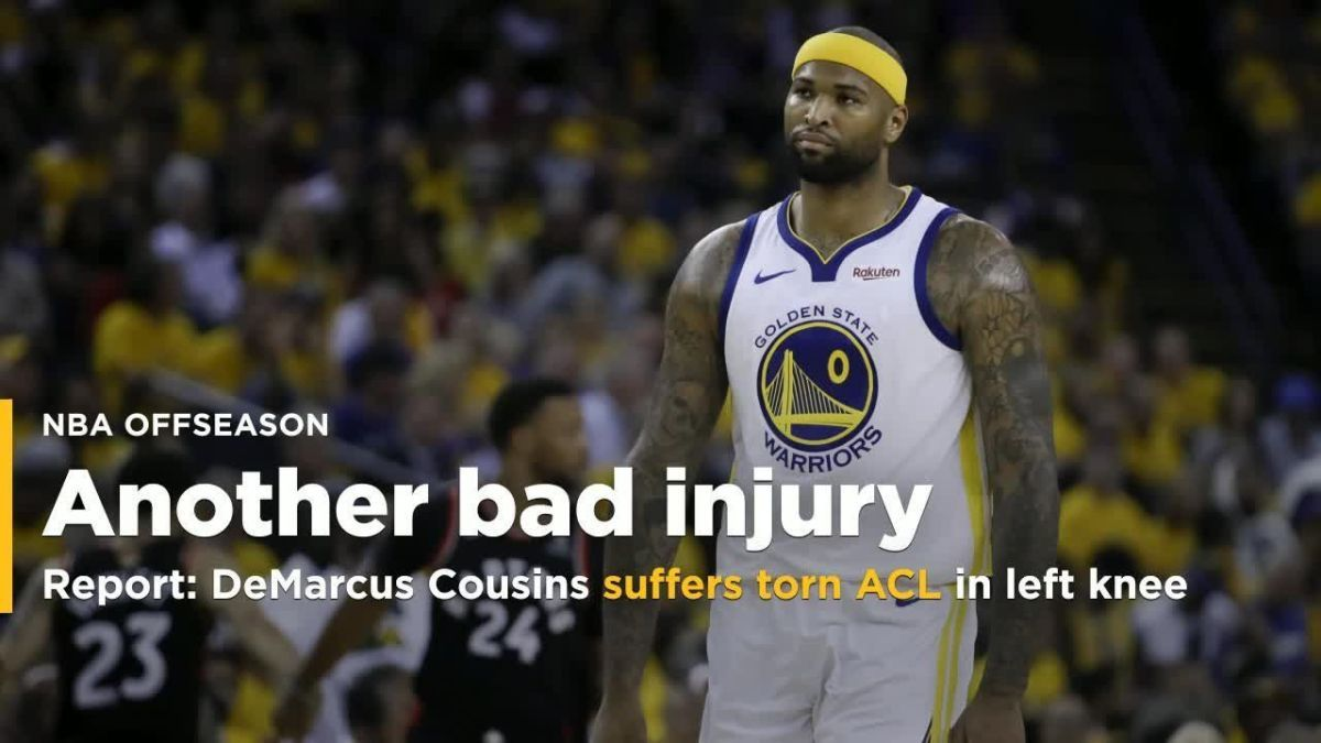 DeMarcus Cousins Suffers Torn ACL Acl tear, Knee injury