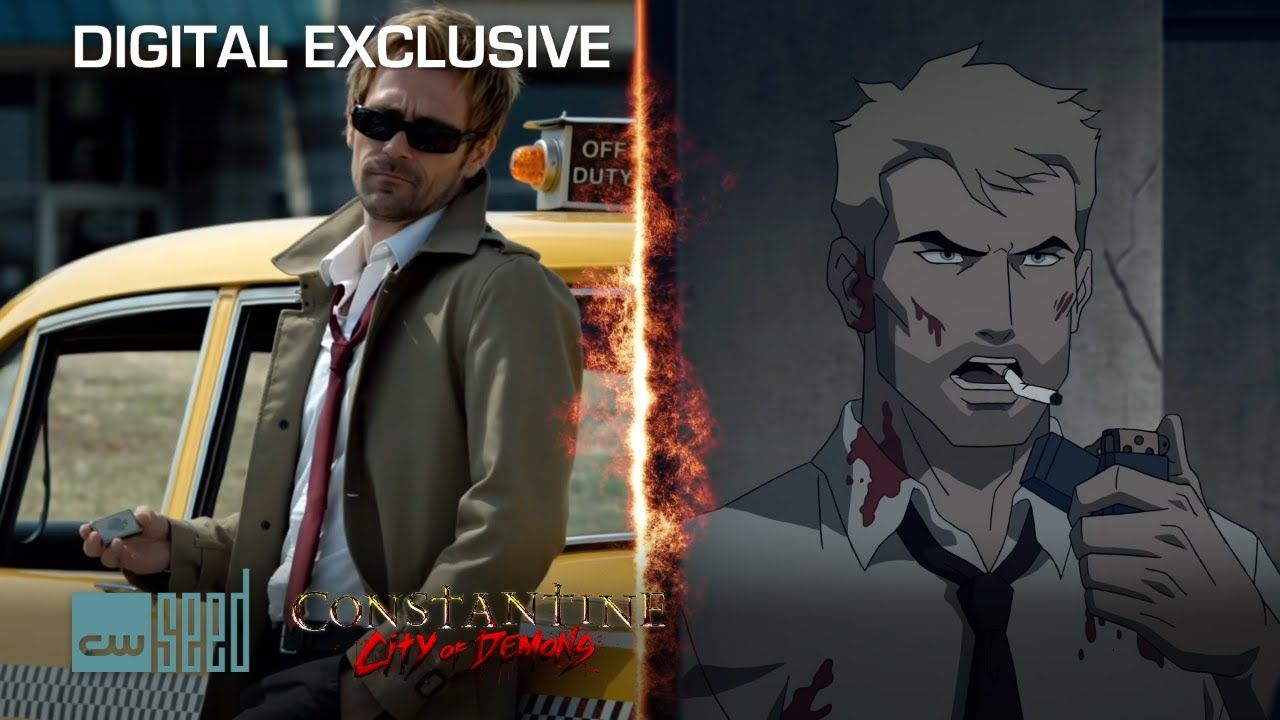 Constantine VS Constantine City Of Demons | CW Seed
