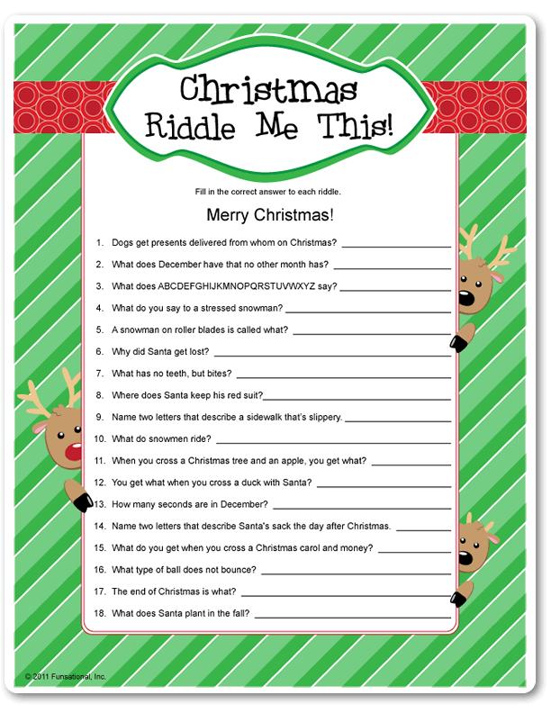 Christmas Party Name Ideas Part - 27: Christmas Party Game Idea