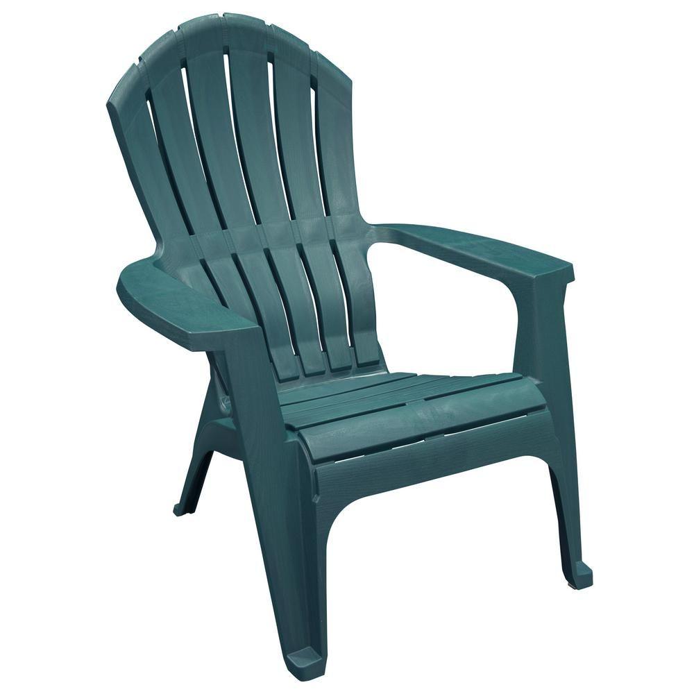 Pleasant Realcomfort Charleston Resin Plastic Adirondack Chair Home Squirreltailoven Fun Painted Chair Ideas Images Squirreltailovenorg