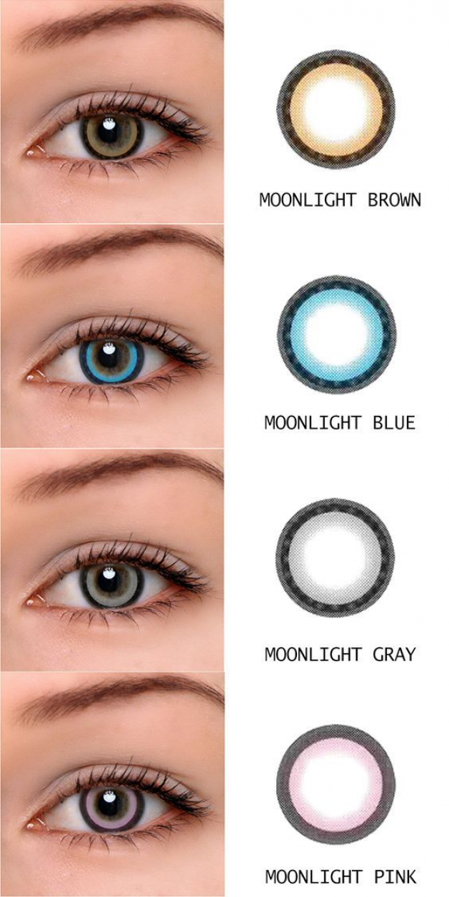 Microeyelenses Com Colored Contact Lenses Online Shop Moonlight Series Brown Blue Gray And Pi In 2020 Contact Lenses Colored Contact Lenses Online Colored Contacts