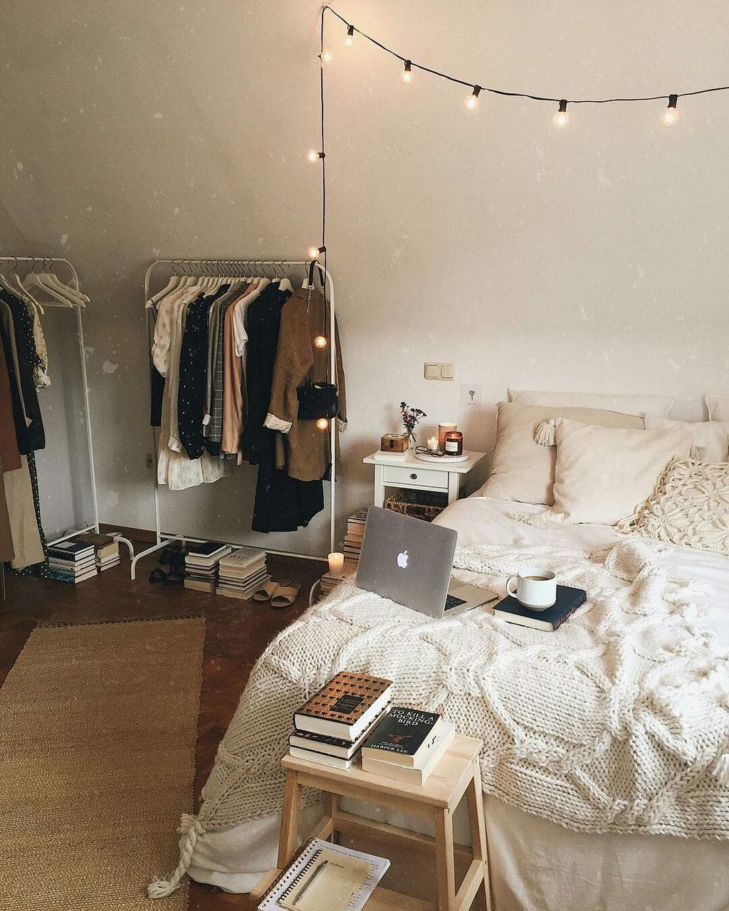Bedroom discovered by skyfire♡ on We Heart It