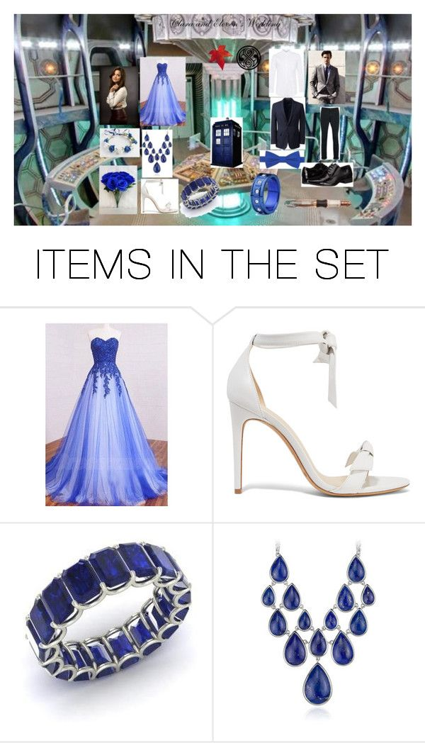 """""""Clara and Eleven's Wedding"""" by amhanna on Polyvore featuring art"""