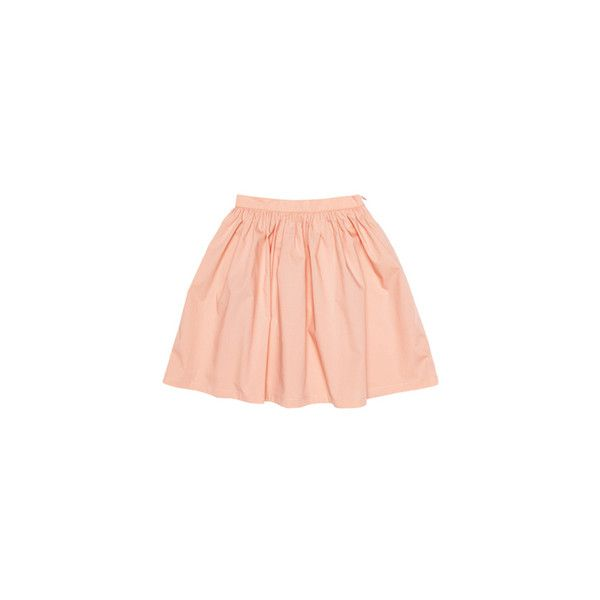 Miller - Turnip Skirt - Designer Girls Clothing - Elias & Grace... (31 CAD) ❤ liked on Polyvore featuring skirts, bottoms, saias, pink and filler