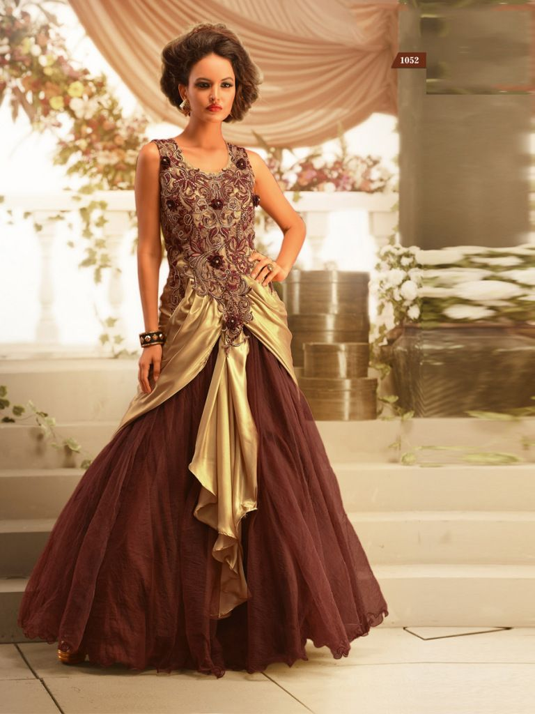 Evening gowns gowns online shopping india buy gowns online for When to buy wedding dress