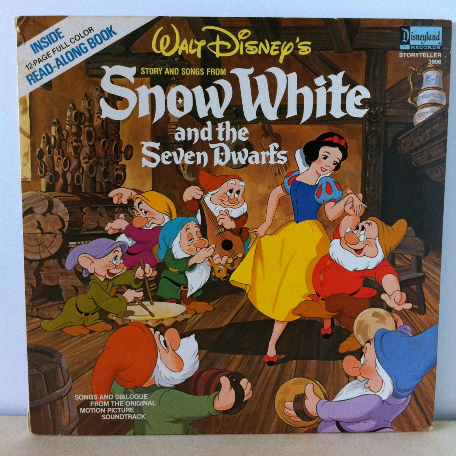 Walt Disney S Snow White And The Seven Dwarfs Story And
