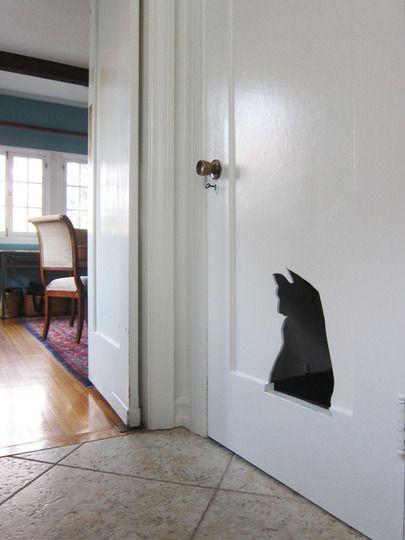 Litter Box Built Into A Door   Great For A Closet Or Basement Door!