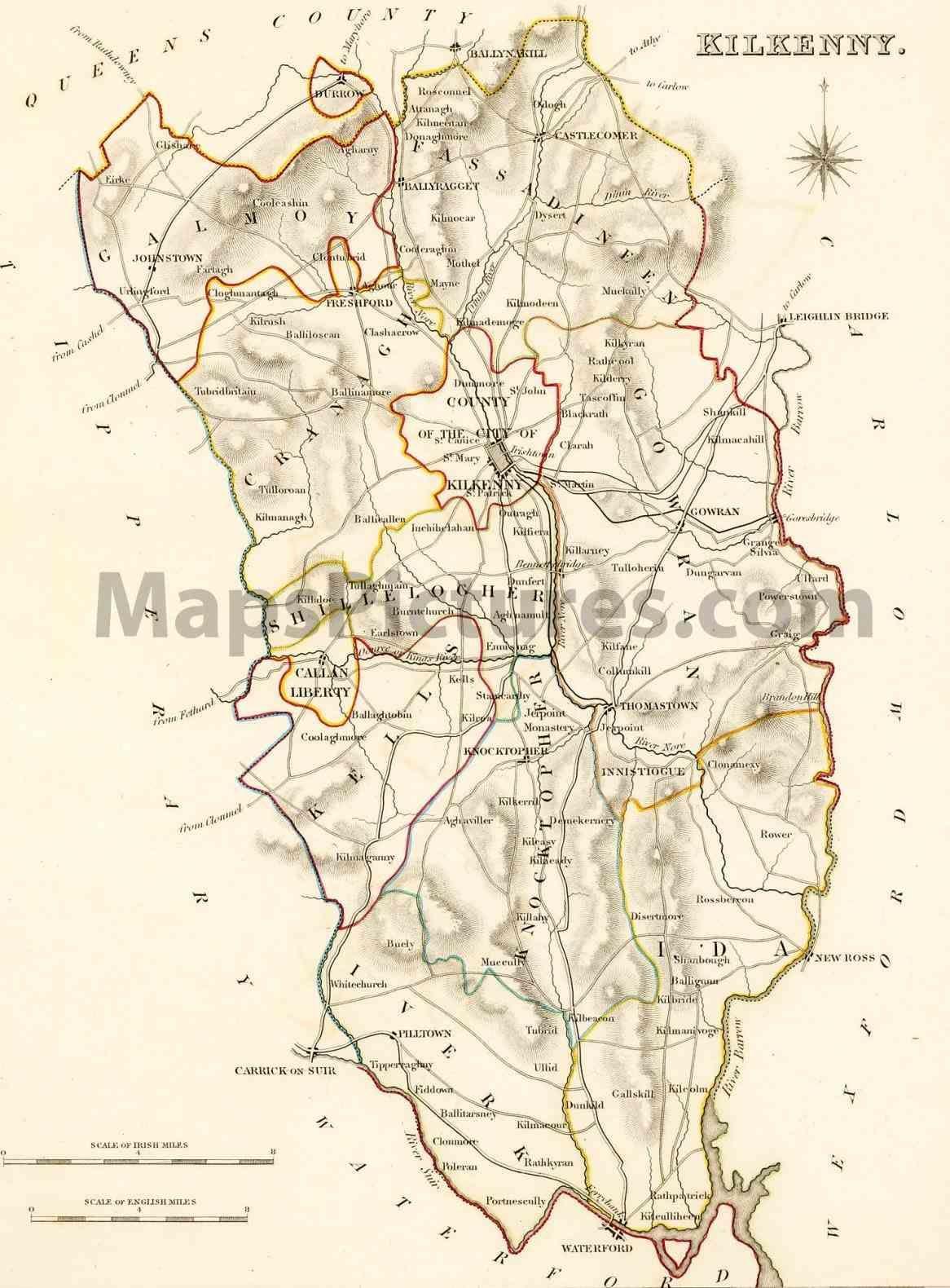 Blarney Ireland Map.High Peaks Challenge Of Castles In Blarney Castle See Details Of
