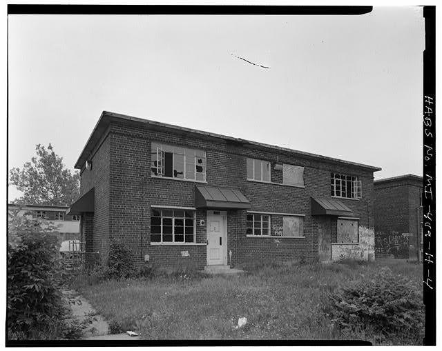 - Parkside Homes & Addition, World War II Era Building Type 1, Bounded by Connor Avenue, Frankfort Road, & Zachariah Chandler Park, Detroit, MI