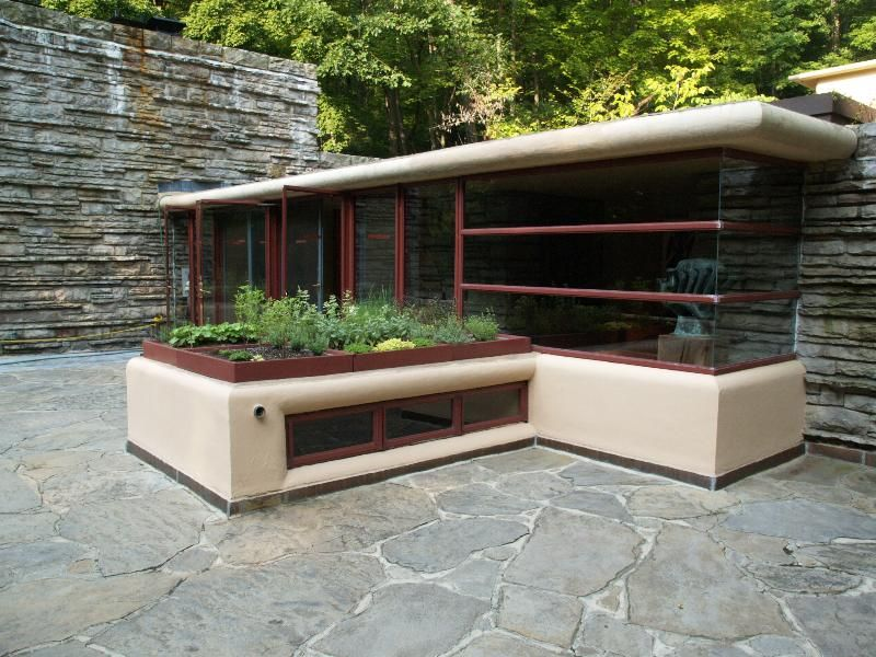 High Quality Fallingwater Pictures: Third Floor Gallery Terrace (Frank Lloyd Wright  House Above Waterfall)