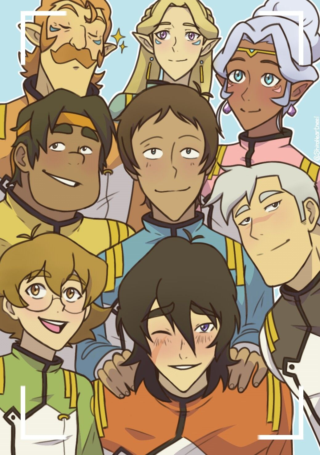 I Hope This Is How It Ends Voltron Voltron Comics Voltron Fanart