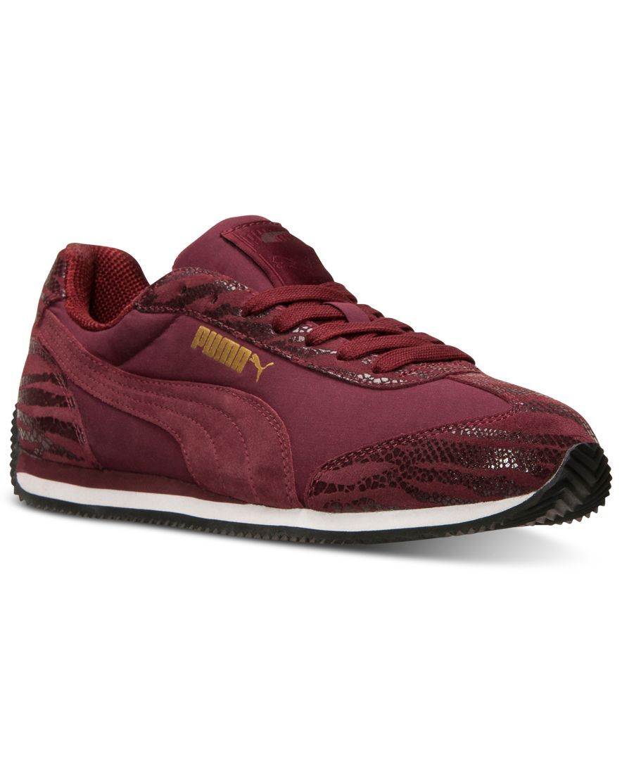 Puma Women s Rio Speed Animal Casual Sneakers from Finish Line ... 79d9166aa