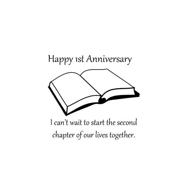 Happy 1st anniversary 1st anniversary paper wedding anniversary happy 1st anniversary 1st anniversary paper wedding anniversary cards anniversary greeting cards m4hsunfo Images