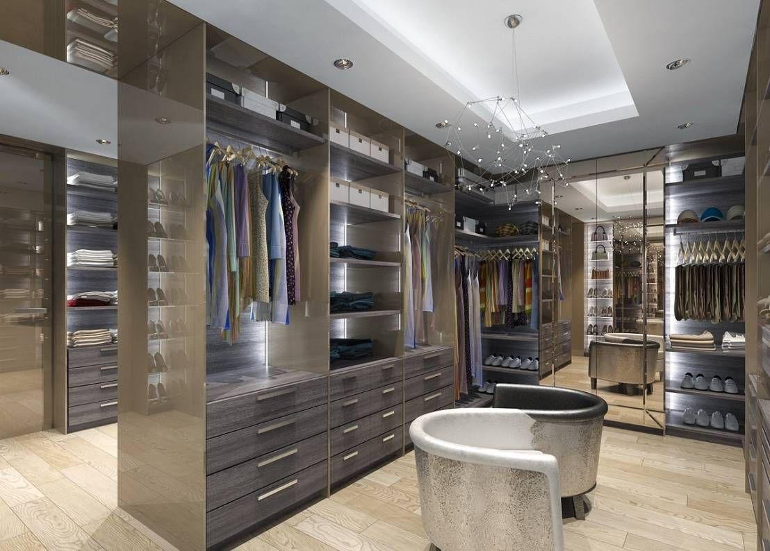 vestidores modernos y fabulosos