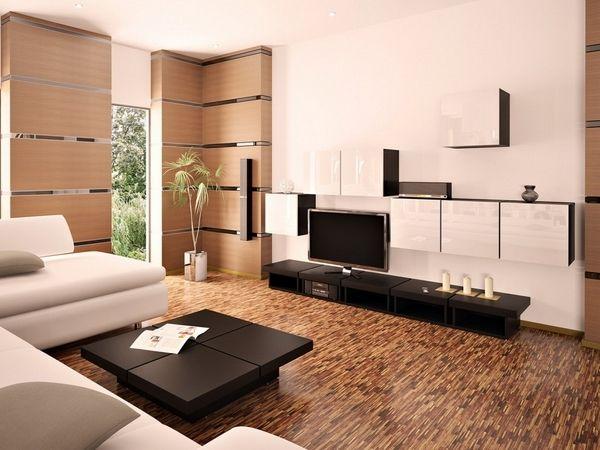 Moderne Wohnzimmer Ideen - Wunderbar Haus Dekoration Stil - wohnzimmer weis braun