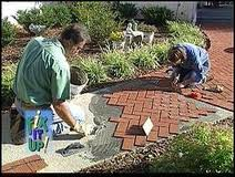 What Is The Best Way To Lay Brick Pavers On Concrete Porch Concrete Porch Brick Patios Concrete Patio