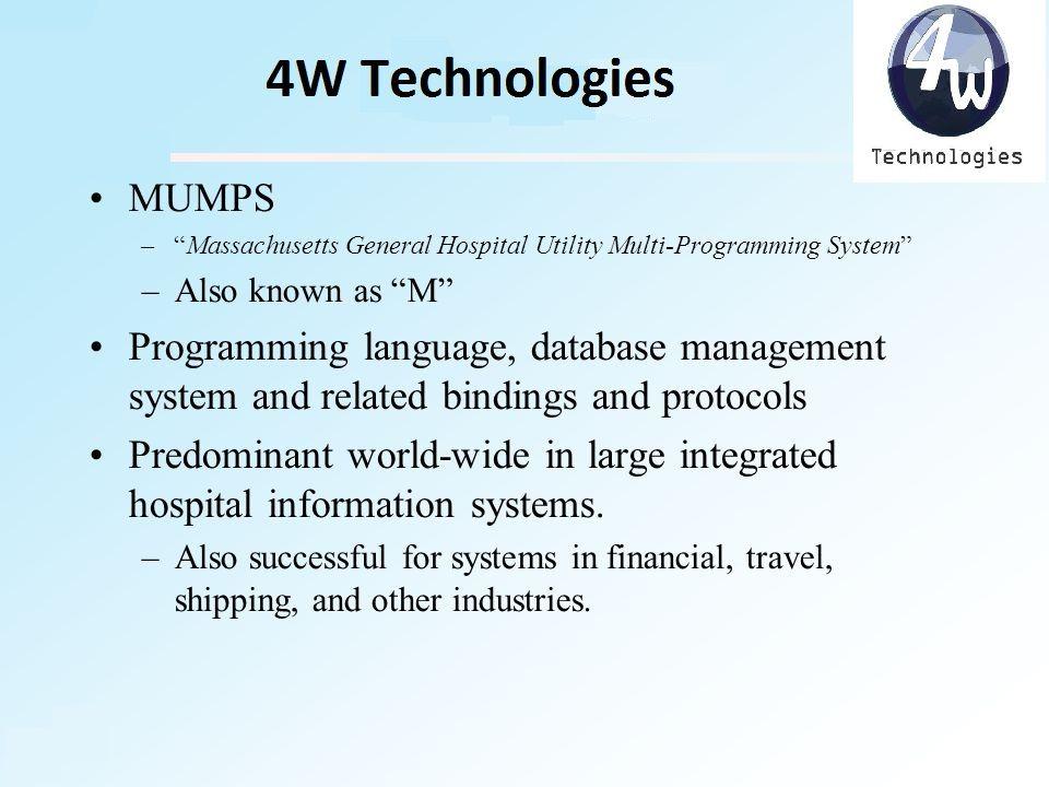MUMPS Massachusetts General Hospital Utility Multi Programming System Or M Is A Purpose Computer Language That Provides ACID Atomic