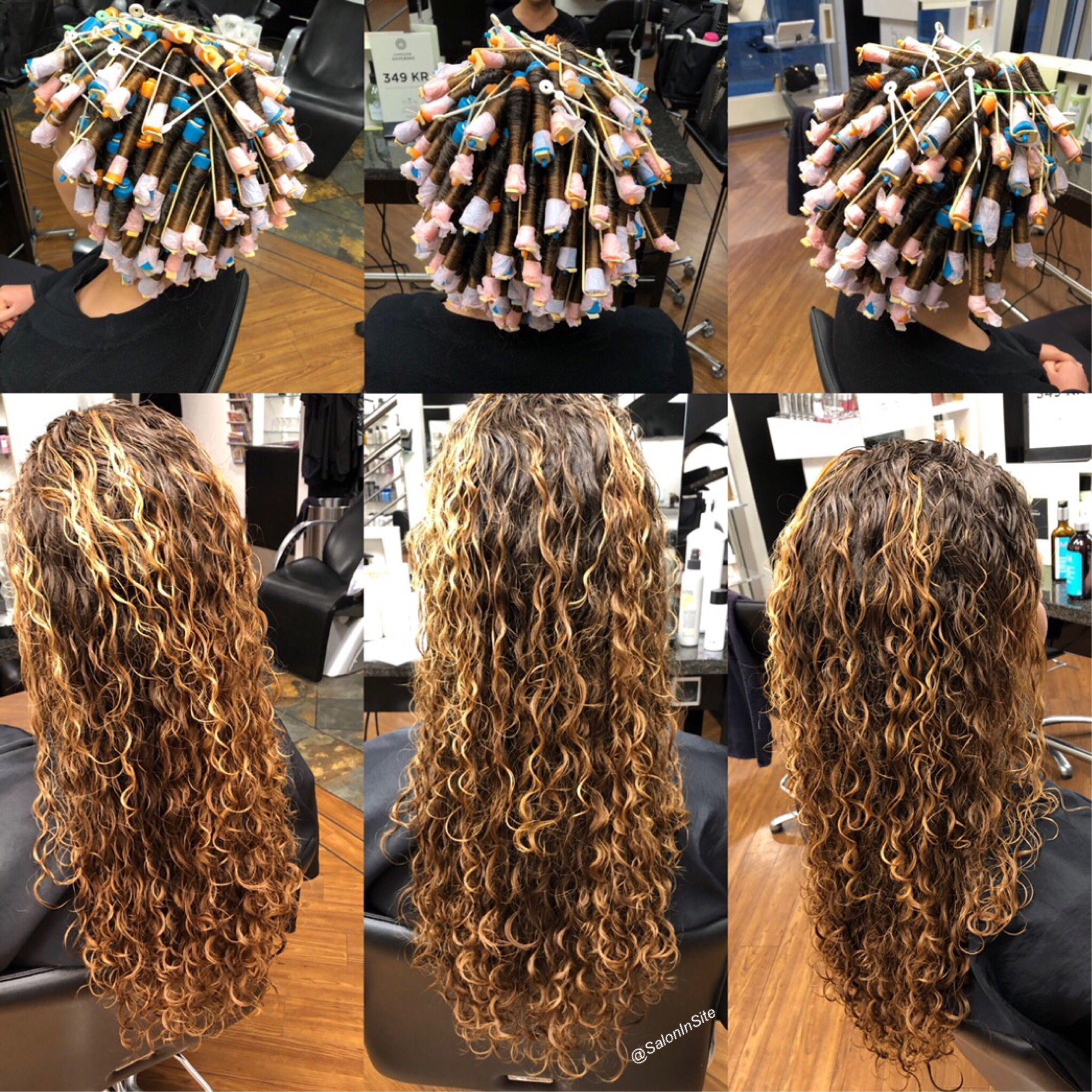 Spiral Perm In 2020 Long Hair Perm Spiral Perm Long Hair Permed Hairstyles